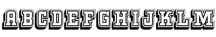 KeggerCollegiate Font LOWERCASE