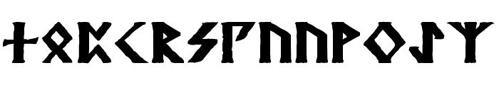Kehdrai Bold Font LOWERCASE