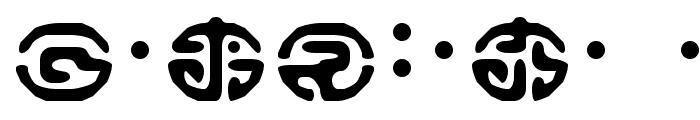 Keikoku Koin Font OTHER CHARS