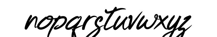 Keishue Font LOWERCASE