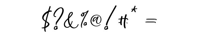 Kelidya Font OTHER CHARS