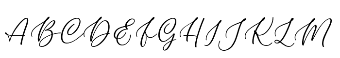 Kelidya Font UPPERCASE