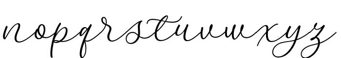 Kelidya Font LOWERCASE