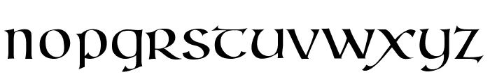 Kells SD Font LOWERCASE