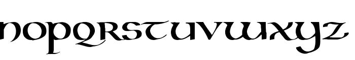 Kells Uncial Bold Font UPPERCASE