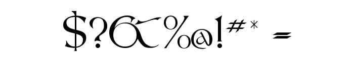 KellsFLF Font OTHER CHARS