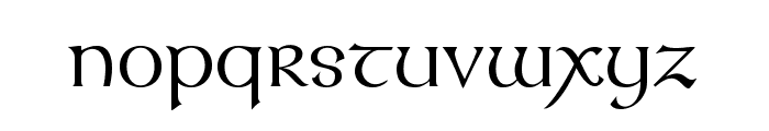 KellsFLF Font LOWERCASE