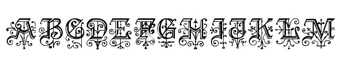 KellyAnnGothic Font UPPERCASE