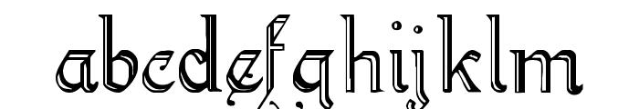 KellyAnnGothic Font LOWERCASE