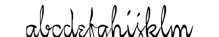 KellyBrown Regular Font LOWERCASE