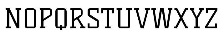 KellySlab-Regular Font UPPERCASE