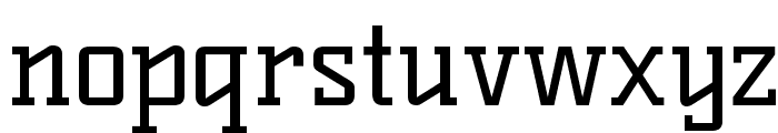 KellySlab-Regular Font LOWERCASE