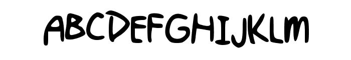 Kellyn_Hand Font UPPERCASE