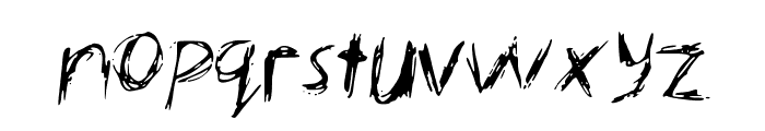 KellysNoteFont Font LOWERCASE