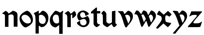 Kelmscott Regular Font LOWERCASE