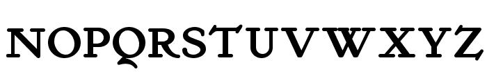 Kelmscott Roman NF Bold Font UPPERCASE