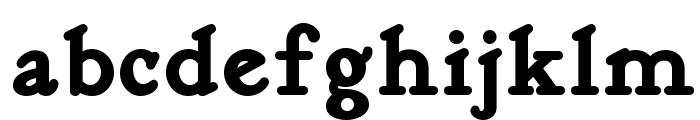 Kelmscott Roman NF Bold Font LOWERCASE