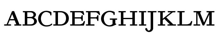 Kelmscott Roman NF Font UPPERCASE