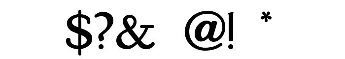 KelmscottRoman Font OTHER CHARS