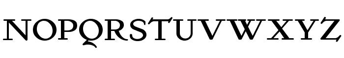 KelmscottRoman Font UPPERCASE