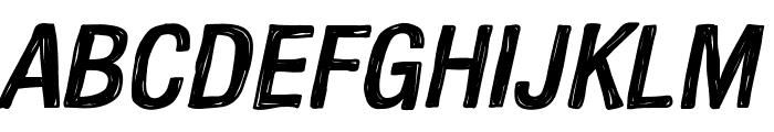 Kelpotico Italic Font UPPERCASE