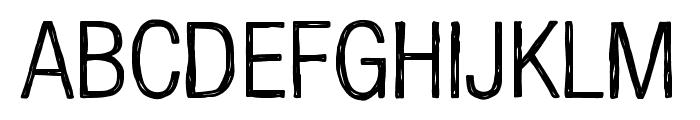 Kelpotico Light Font LOWERCASE