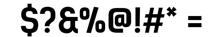 KelsonSans-BoldRU Font OTHER CHARS
