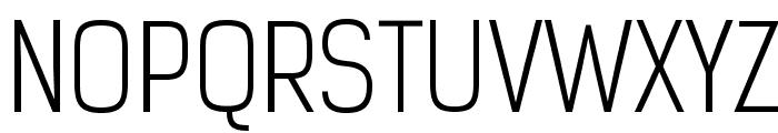 KelsonSans-Light Font UPPERCASE