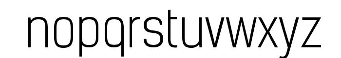 KelsonSans-Light Font LOWERCASE