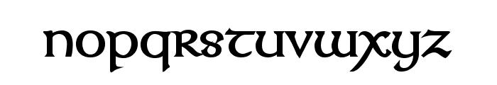 Kelt Bold Font LOWERCASE
