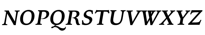 Kelvinch Bold Italic Font UPPERCASE