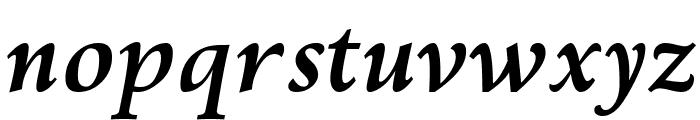 Kelvinch Bold Italic Font LOWERCASE