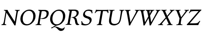 Kelvinch Italic Font UPPERCASE