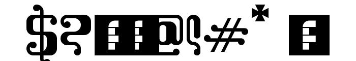 Kemasyuran Jawa Regular Font OTHER CHARS