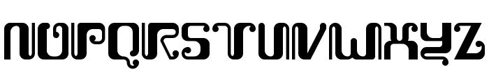 Kemasyuran Jawa Regular Font UPPERCASE
