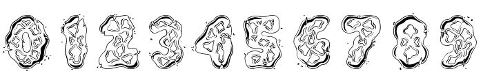 Kembang Goyang Font OTHER CHARS