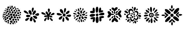 Kembang Font OTHER CHARS
