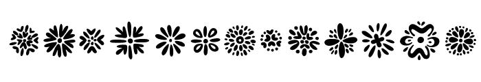 Kembang Font LOWERCASE