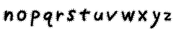 Kemushi Font LOWERCASE