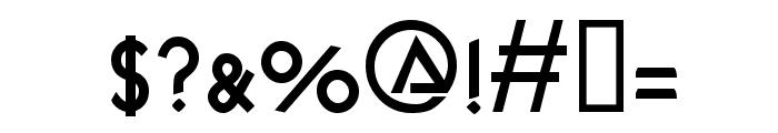 KendraSCapsSSK  Bold Font OTHER CHARS