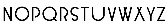 KendraSCapsSSK  Bold Font LOWERCASE
