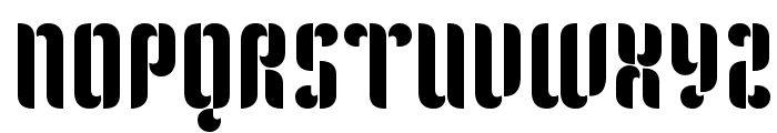 Kenia Font UPPERCASE
