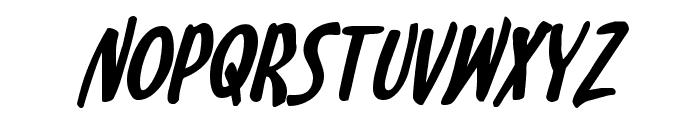 Kennebunkport Bold Italic Font LOWERCASE