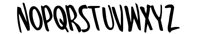 Kennebunkport Leftalic Font UPPERCASE