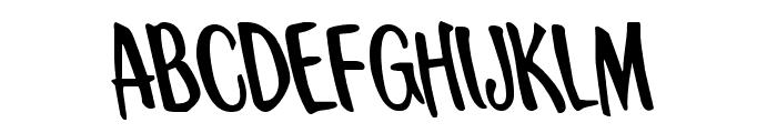 Kennebunkport Leftalic Font LOWERCASE