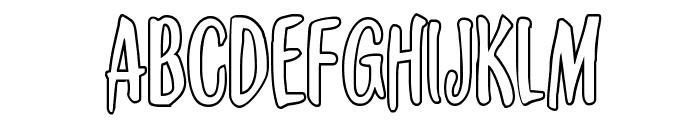 Kennebunkport Outline Regular Font UPPERCASE