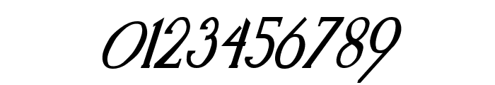 Kennon Italic Font OTHER CHARS