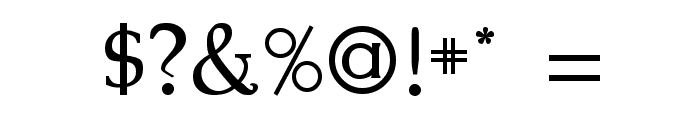 Kennon Regular Font OTHER CHARS