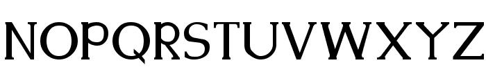 Kennon Regular Font UPPERCASE