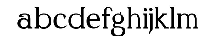 Kennon Regular Font LOWERCASE